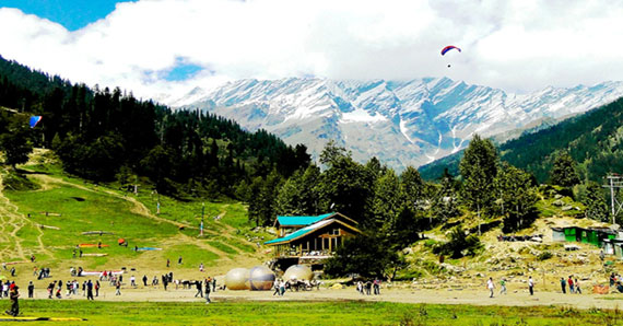 Chandigarh Manali Taxi Tour